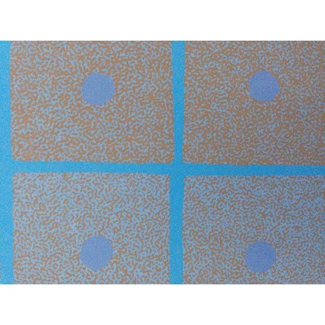 1973 Op-Art Silkscreen Signed Bay Area Artist For Sale - Image 4 of 8