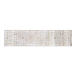 """Nalbandian - Contemporary Indian Tabriz Runner - 2'11"""" X 11'11"""" For Sale"""