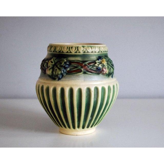 1920s Roseville Pottery Corinthian Jardeniere Planter Vase - Image 2 of 6