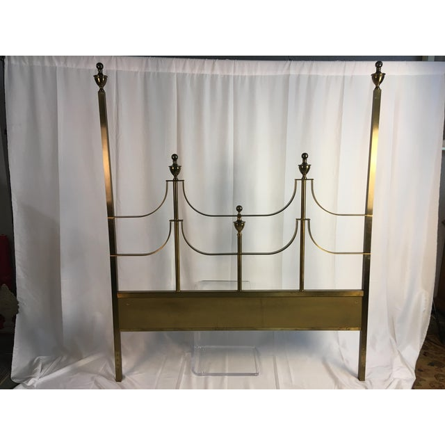 1960s Vintage Mastercraft Style Headboard For Sale - Image 11 of 11