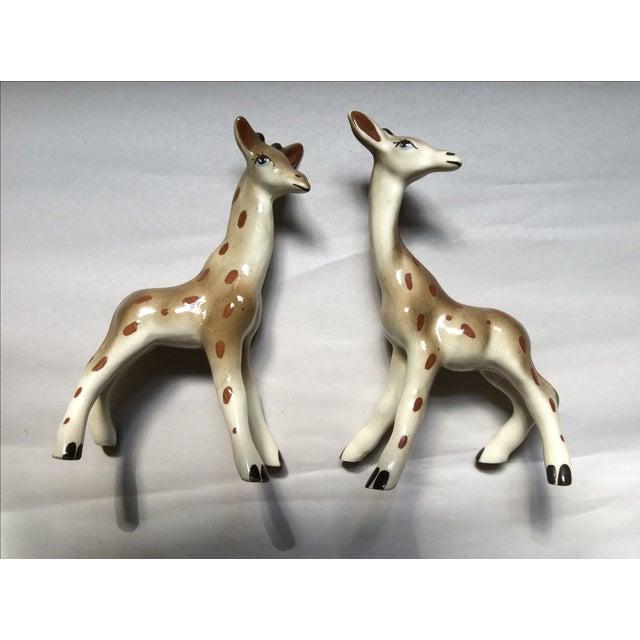 Giraffe Figurines - A Pair - Image 2 of 8