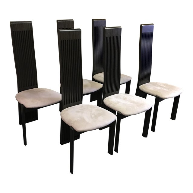 Costantini Pietro Dining Chairs - Set of 6 For Sale