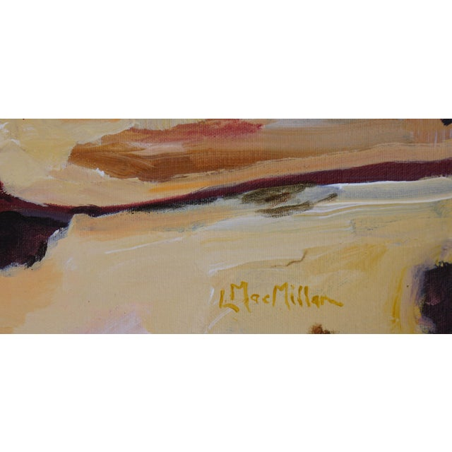 "2010s Abstract Laurie MacMillan ""Southwest Syncline"" Landscape For Sale - Image 5 of 6"