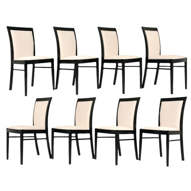 Set of Eight Regency-style Dining Chairs - Image 1 of 10