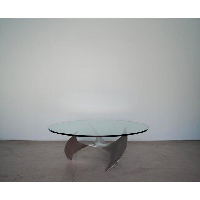 1960s Danish Modern Knut Hesterberg Propeller Coffee Table For Sale - Image 13 of 13