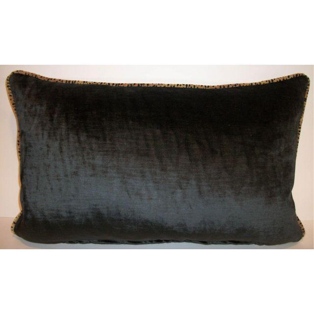 Kravet Baby Cheetah Velvet Pillows - A Pair - Image 4 of 4