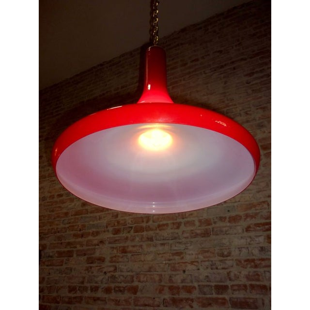Red Foscarini Pendant - Image 5 of 5