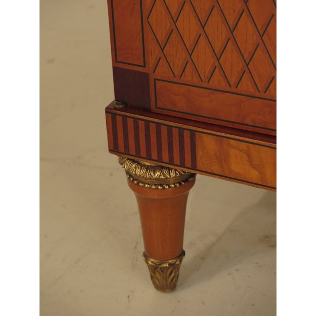 Italian Inlaid Walnut Sideboards - A Pair - Image 5 of 11