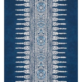 Javanese Stripe Wallpaper by Anna French - Sample For Sale