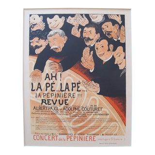 Original Maitres De l'Affiche Poster, La Pepiniere (Plate 119)