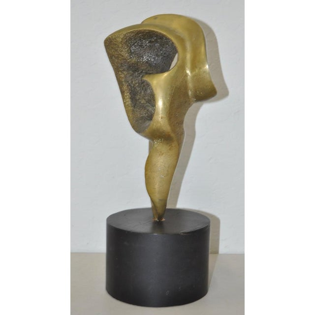 CB Johnson Mid Century Modern Bronze Sculpture c.1950s For Sale - Image 4 of 6
