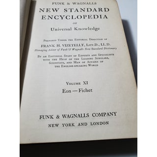 1930's Vintage Red Books Encyclopedia Funk and Wagnalls - Set of 12 Preview