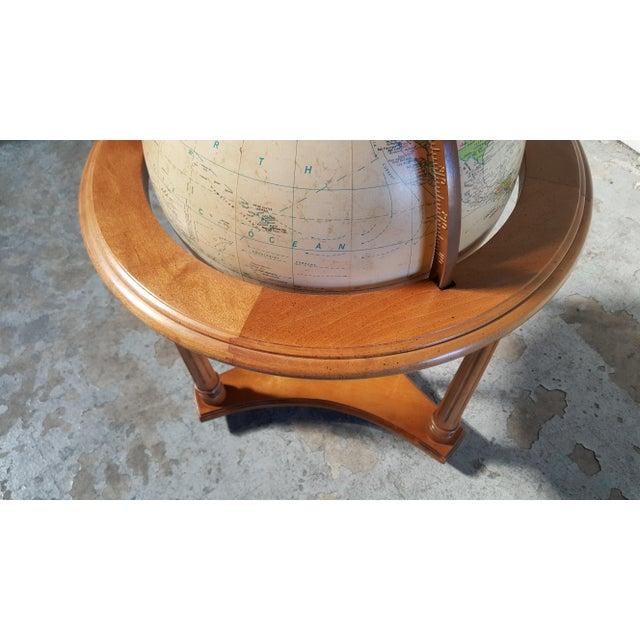 Replogle Globes Replogle Vintage Illuminated Heirloom Globe For Sale - Image 4 of 11