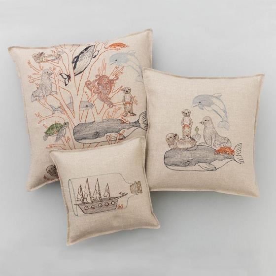 Coral Forest Pillow - Image 3 of 5