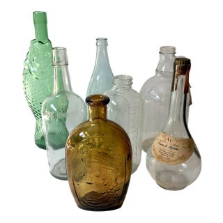 1960s Vintage Instant Bottle Collection -Set of 6