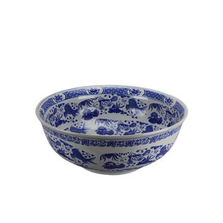 Pasargad Fine Hand-Crafted Porcelain Bowl For Sale