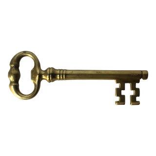 Italian Heavy Brass Key Bottle Opener