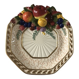 Fitz and Floyd Classic's Venezia Canapé Plate For Sale