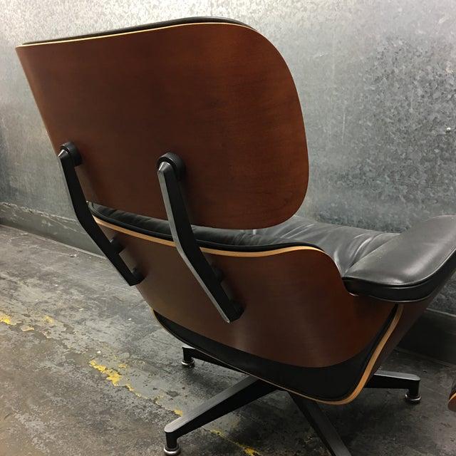 Herman Miller Lounge Chair + Ottoman - Image 6 of 10