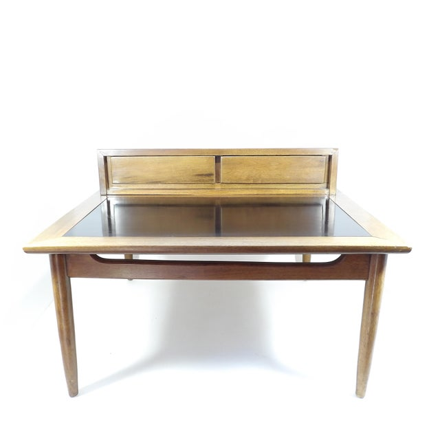 1950s Mid Century Modern American of Martinsville Sectional Sofa Divider Table For Sale In Sacramento - Image 6 of 12