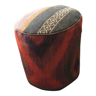 Vintage Turkish Kilim Rug Ottoman