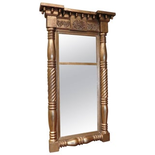 Empire Tabernacle Two-Part Mirror For Sale