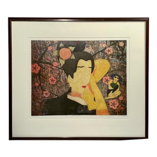Original Yuji Hiratsuka Print For Sale