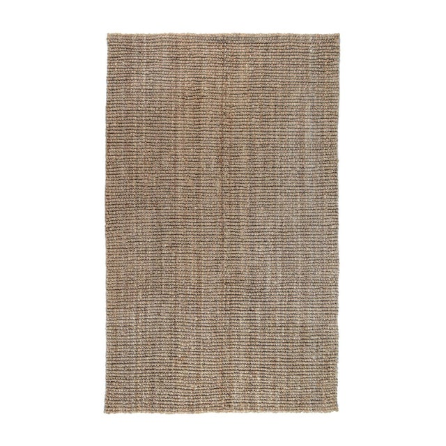 Loop Natural Jute Rug - 5 X 8 For Sale In Los Angeles - Image 6 of 6