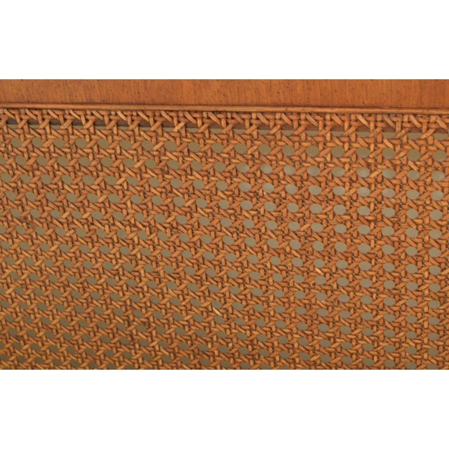 1970s 1970s Federal Style Henredon King Size Headboard For Sale - Image 5 of 12