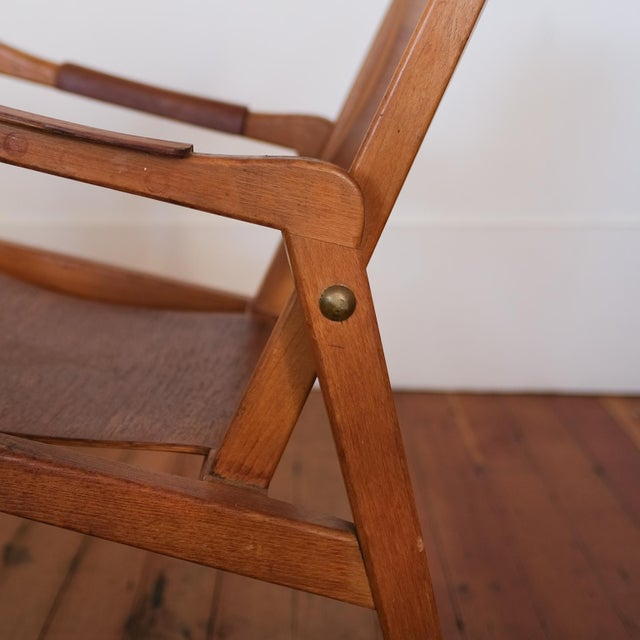 Axel Larsson Lounge Chair, Sweden, 1948 For Sale - Image 11 of 13