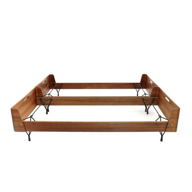 Pair Of Beds by Rima And Designed By Gaston Rinaldi - Italy 1950s