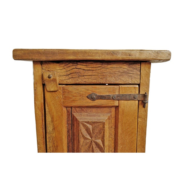 Iron Vintage Mesquite Side Cabinet For Sale - Image 7 of 8