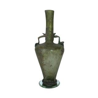Ancient Roman Glass Bottle For Sale