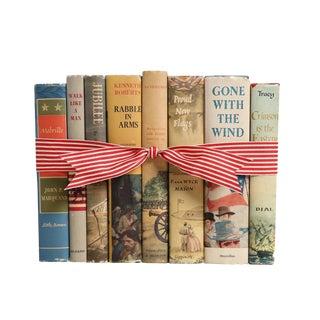 Vintage Decorative Book Gift Set: Military Novels For Sale