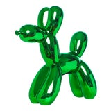 "Image of Interior Illusions Plus Kelly Green Balloon Dog Bank - 12"" Tall For Sale"