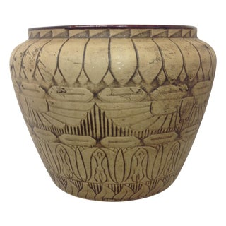 Large 1930's Monmouth Egyptian Vase For Sale