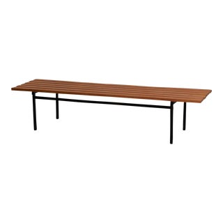 Hans Könecke P1 Bench for Tecta, Germany, 1960s For Sale