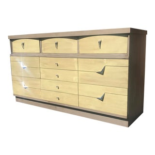 1960s Mid Century Modern Lowboy Dresser For Sale