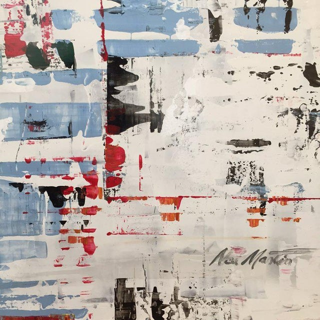 Ned Martin, East River (Horizontal Diptych) Painting, 2018 For Sale In New York - Image 6 of 10