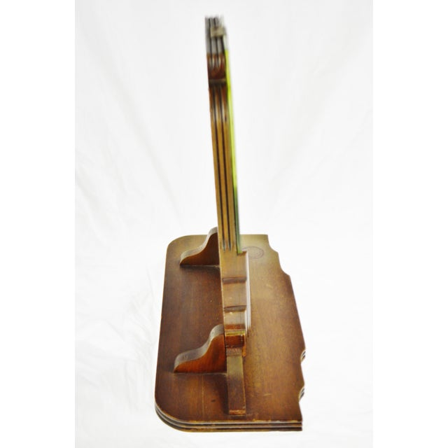 Art Deco Table Top Vanity Shaving Mirror For Sale - Image 4 of 13