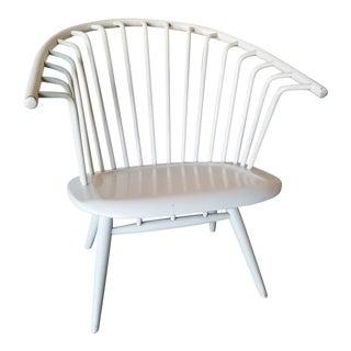 Ilmari Tapiovaara 'Crinolette' Chair in White For Sale