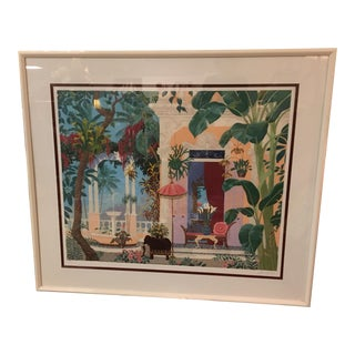 "John Kiraly ""Miss Liza's Hideaway"" Serigraph For Sale"
