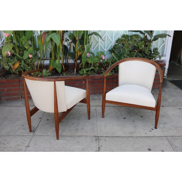 Kodawood Lounge Chairs - a Pair For Sale - Image 11 of 11