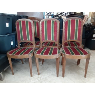 Moving, Sale Priced....Late 19th Century Period Newport Rhode Island Napoleanic Side Chairs- Set of 6 Preview