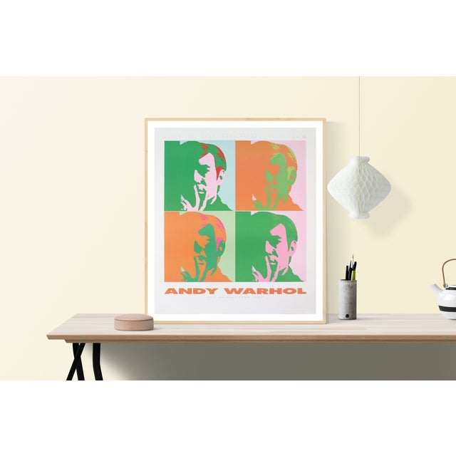 Andy Warhol- Four Self Portraits: From a series of forty plus posters of a collection of Roger L. Schlaifer, licensing...