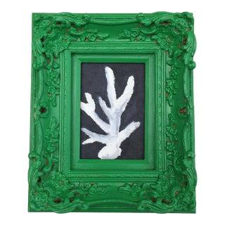 Memo Faraj Coral Fragment Nautical Sea Life Painting For Sale