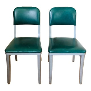 Vintage Steelcase Industrial Chairs - a Pair