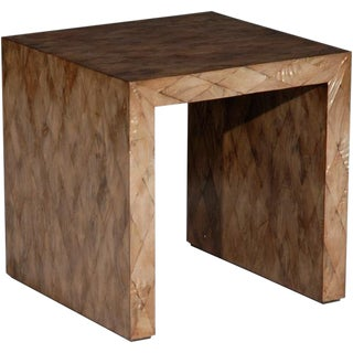 Contemporary Square Occasional Table For Sale