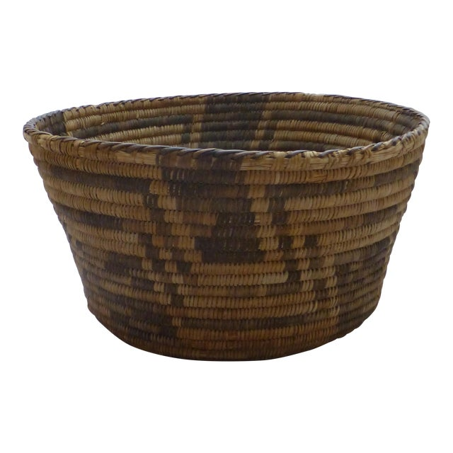 Antique Apache Basket Circa 1890-1920 - Image 1 of 11
