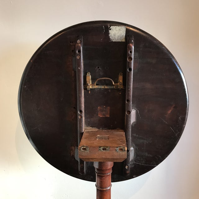 Brown 19th C. Tilt-Top Table For Sale - Image 8 of 11